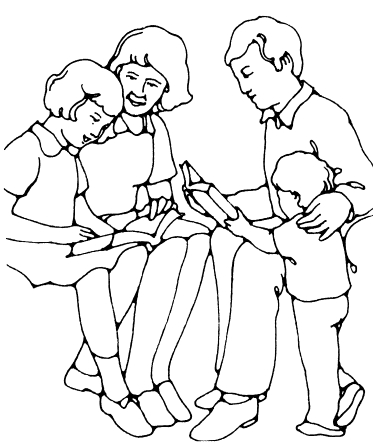 black and white bible coloring pages | Family Scripture Reading