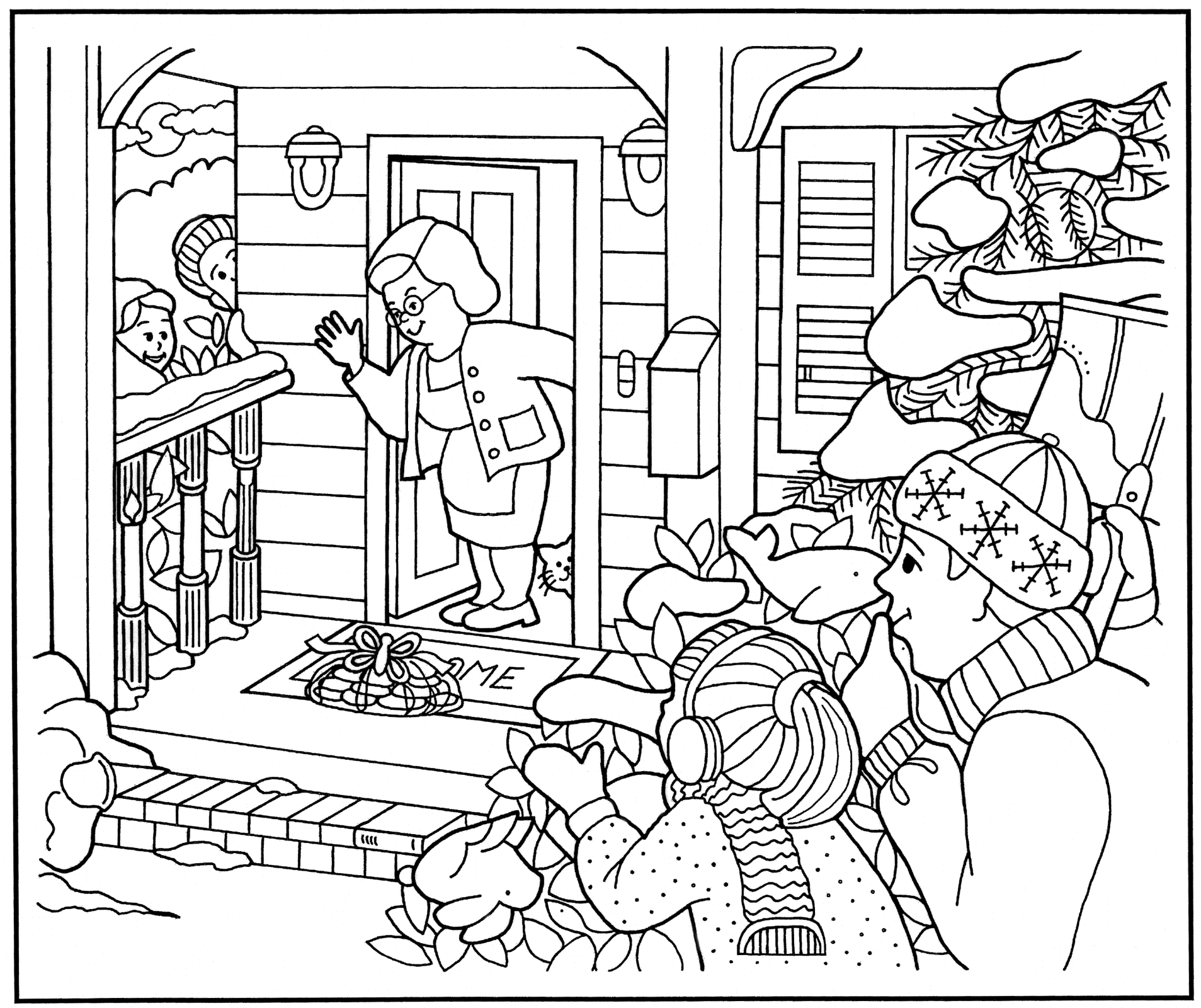 Christmas Coloring Pages Lds Org - Worksheet & Coloring Pages