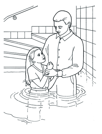 how to explain being baptized to a child