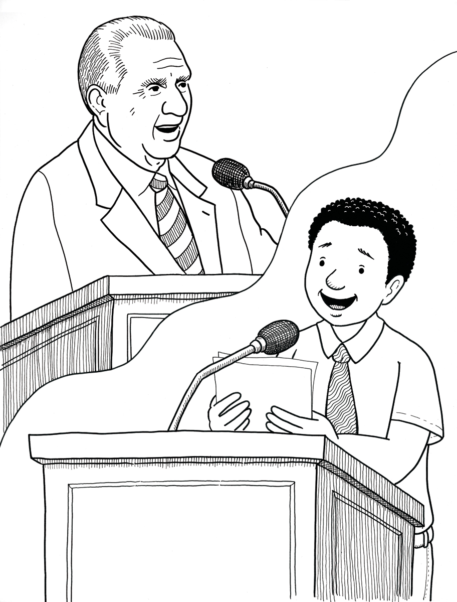 President Monson Speaks
