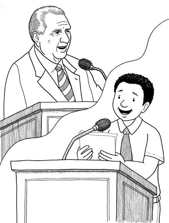 President Monson Speaks