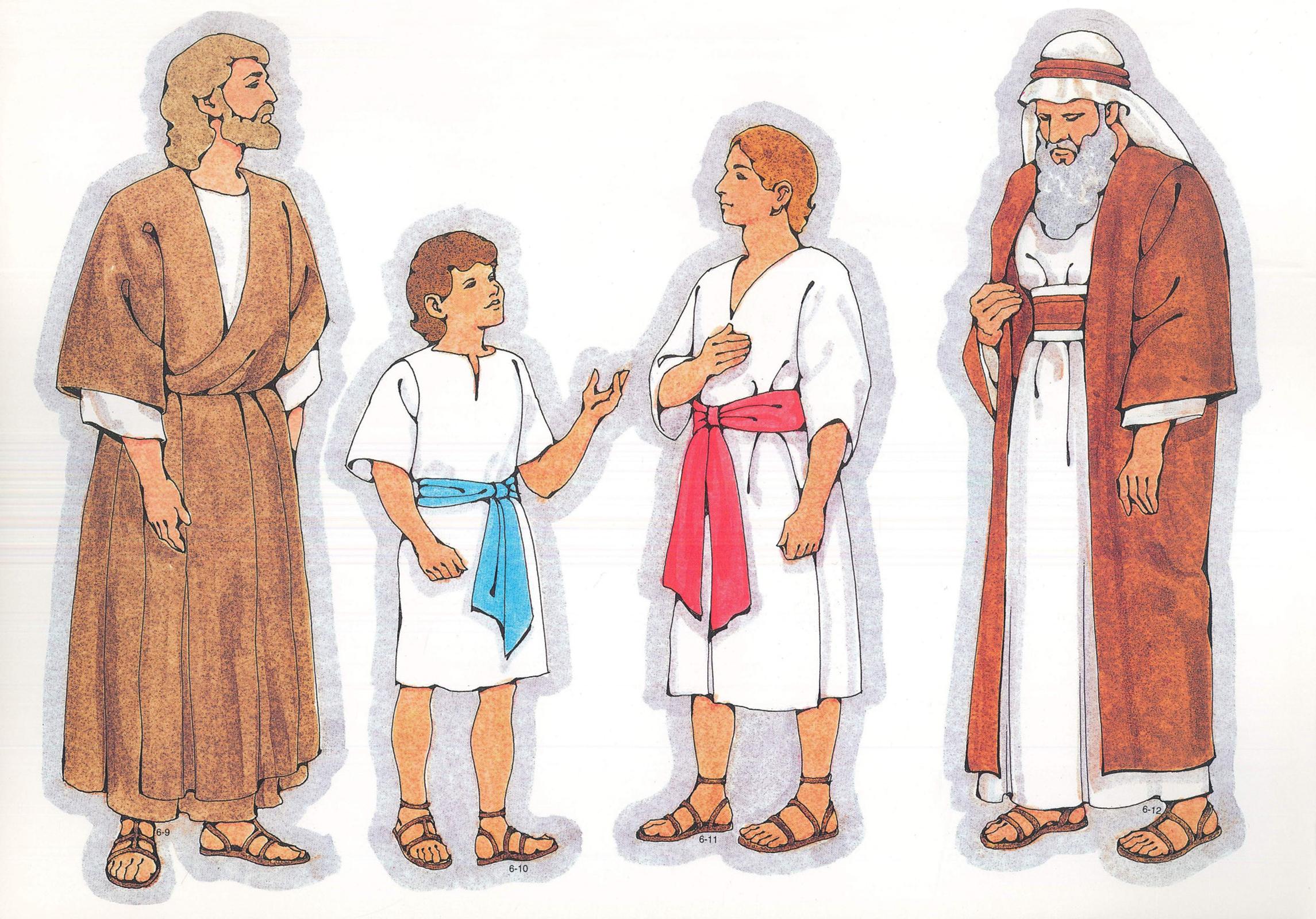 primary visual aids cutouts 6 9 biblical man 6 10 biblical boy