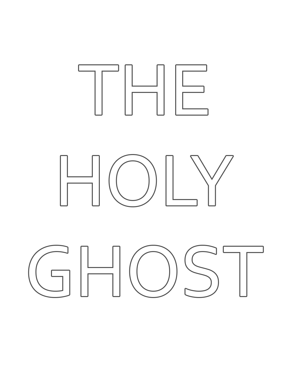primarily inclined primary 1 lesson 7 the holy ghost helps me