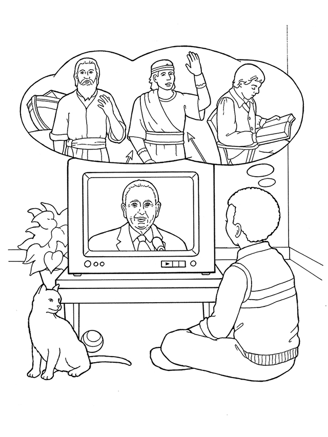 Prophet for all times for Thomas s monson coloring page