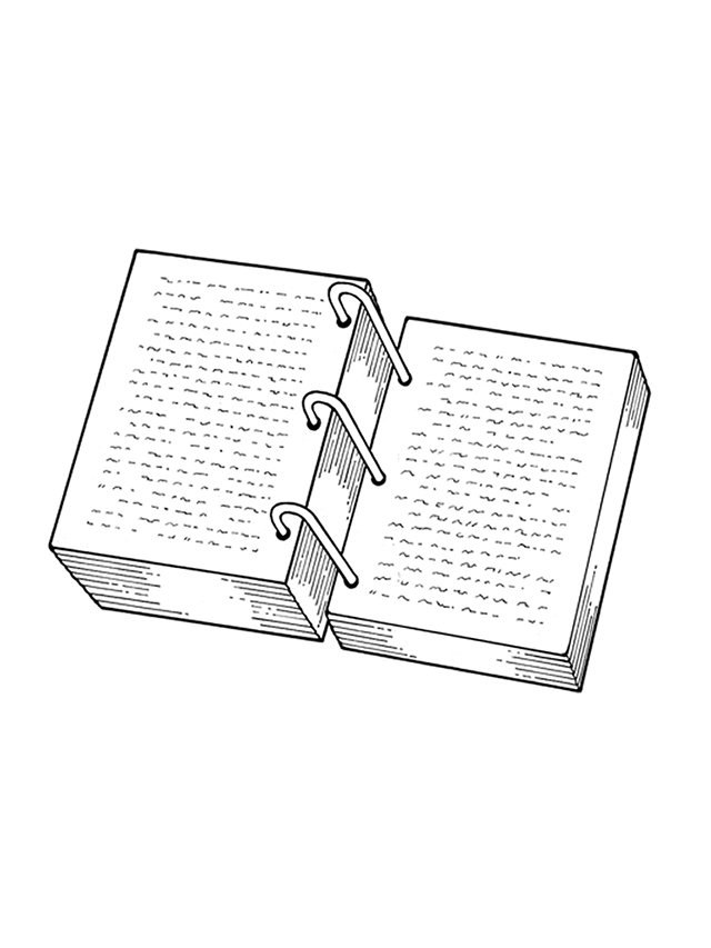 Line Drawing Book : The golden plates