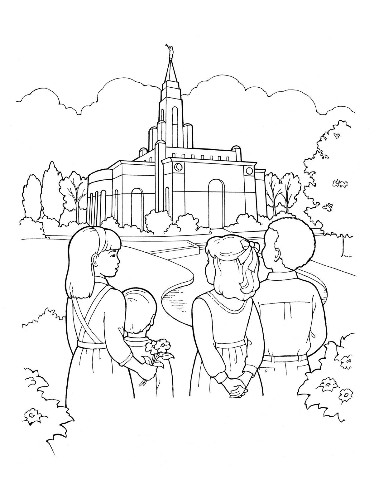 Kids House Drawing: Our Deseret Homeschool: Gospel Basics 38 Week Lesson Plan