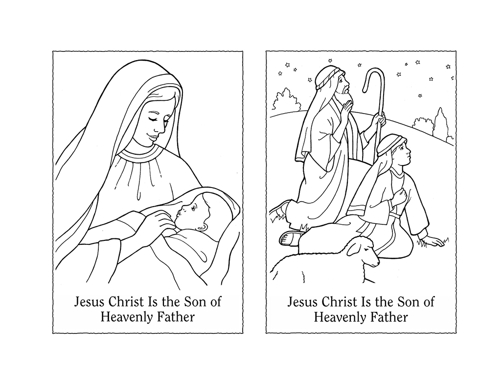 nursery manual page 127 jesus christ is the son of heavenly father