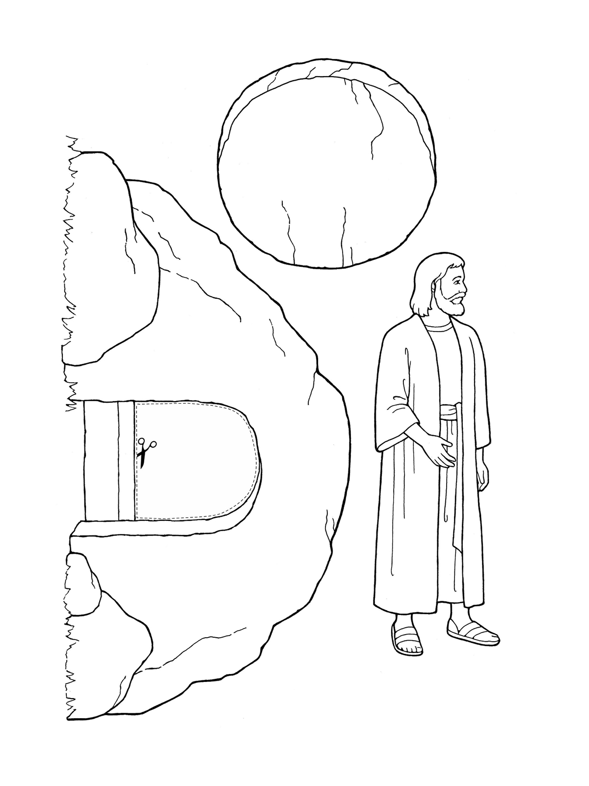 Nursery Manual Page 123 Jesus Christ Was Resurrected