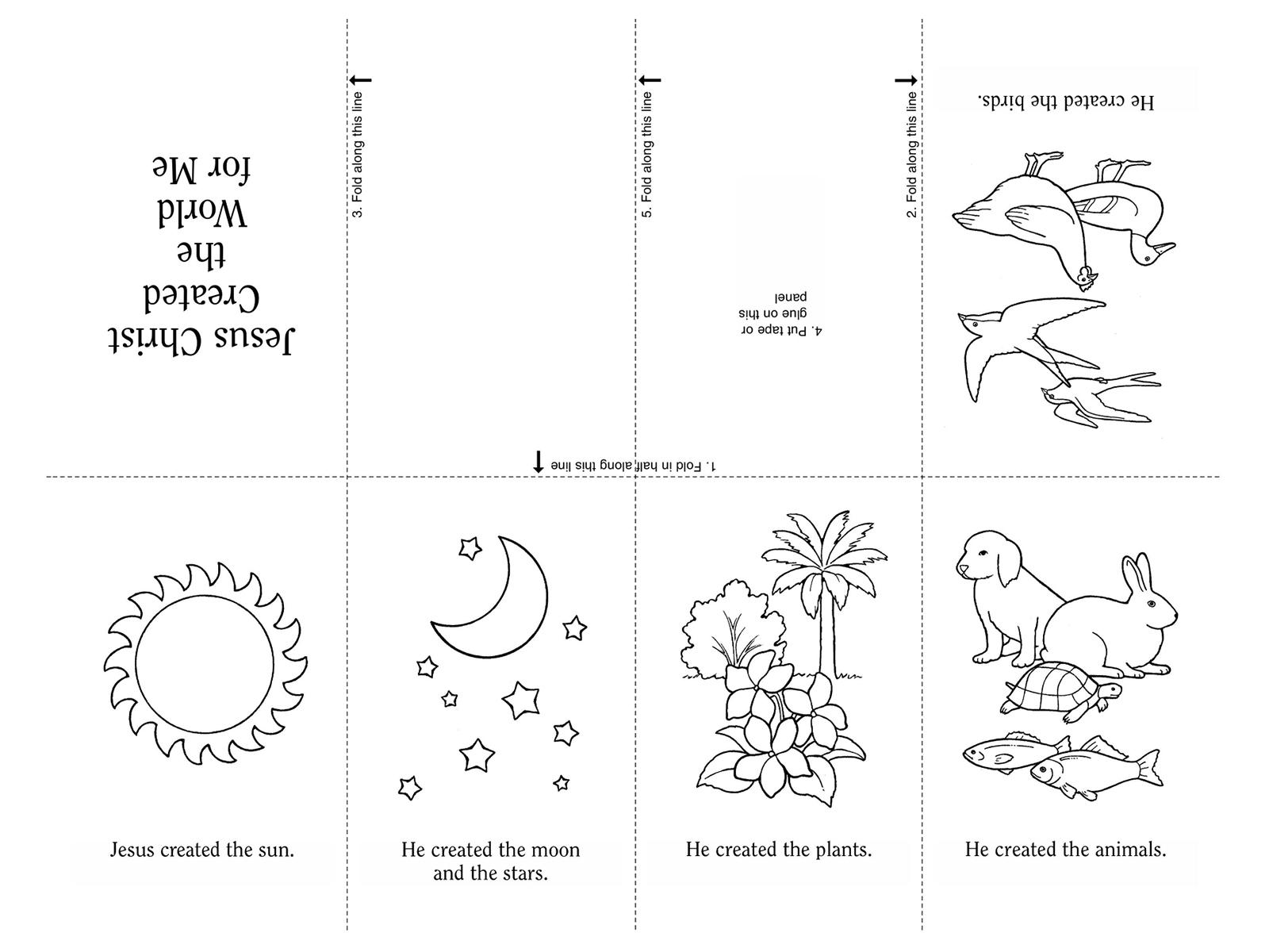 Nursery Manual Page 35 Jesus Christ