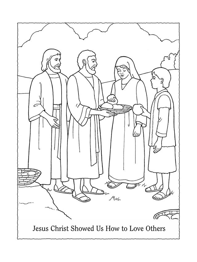 Nursery Manual Page 27: Jesus Christ Showed Us How to Love