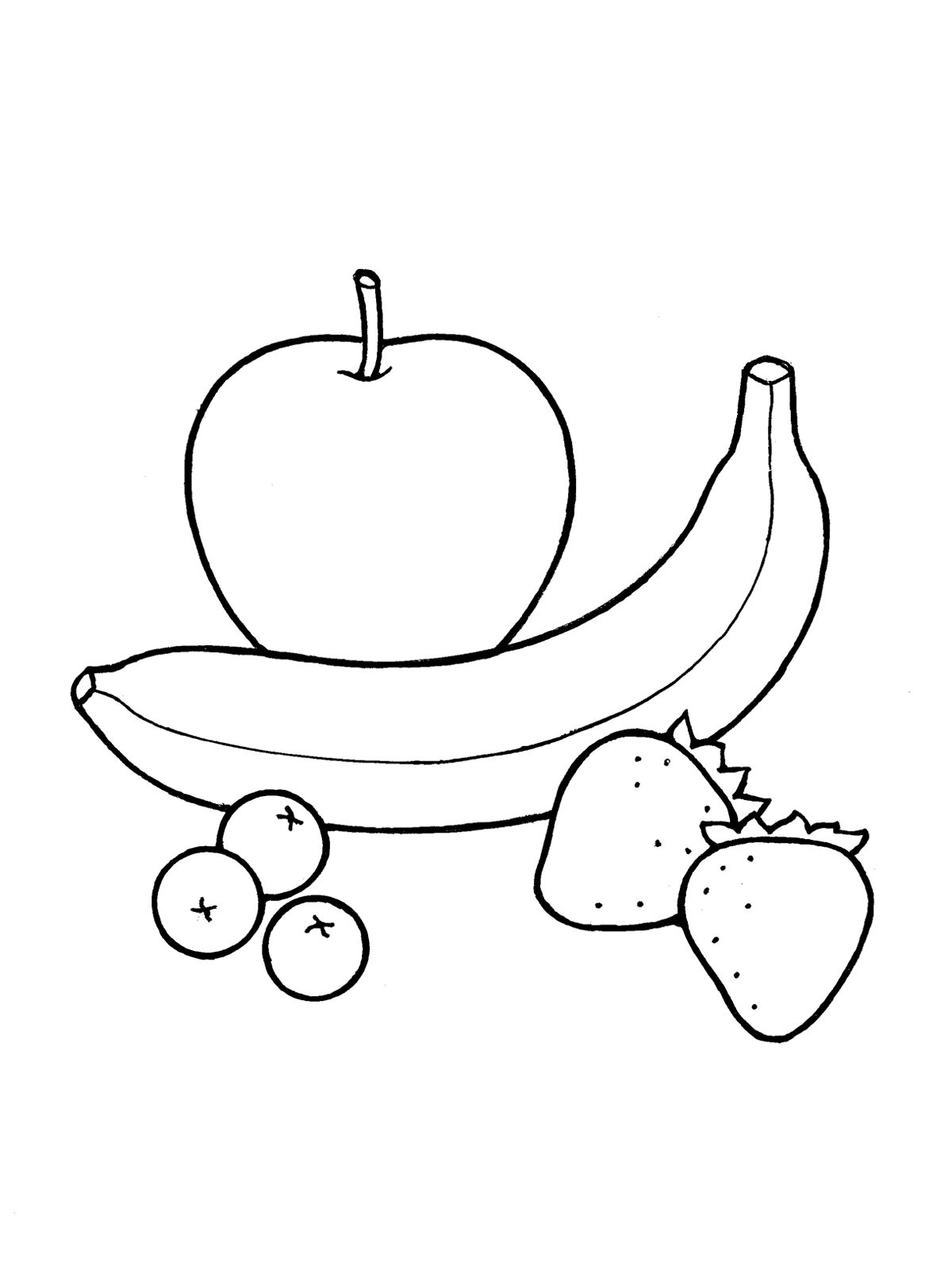 Fruit: Nursery Schedule Snack Time