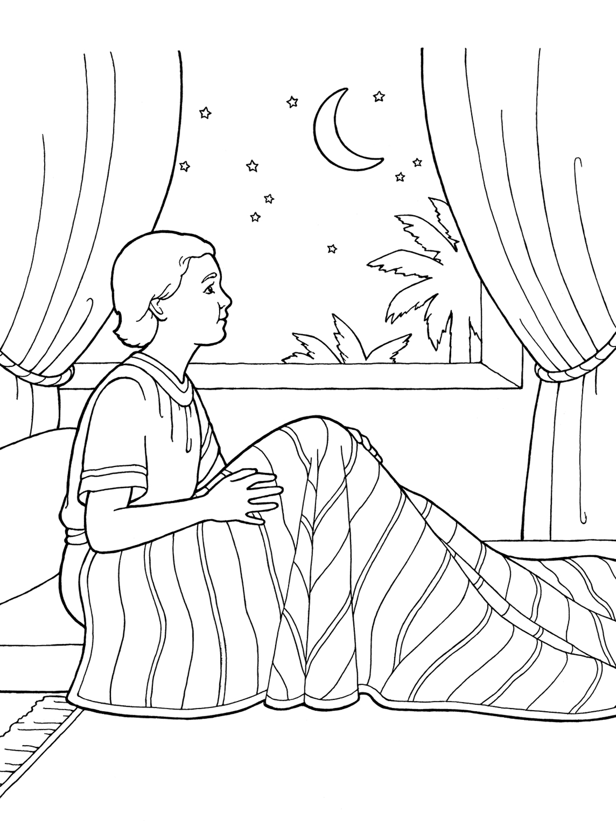 Bible Coloring Pages Hannah - Coloring Home | 1600x1200