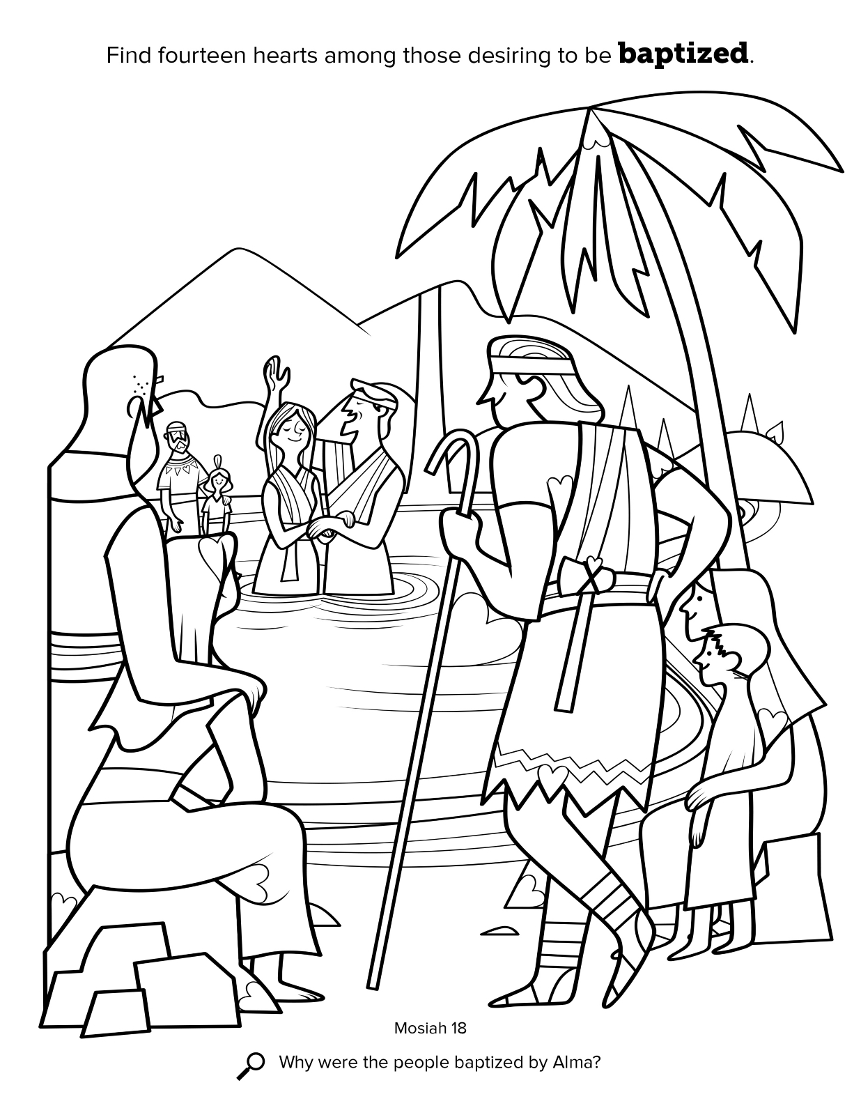 book of mormon coloring pages - photo#14