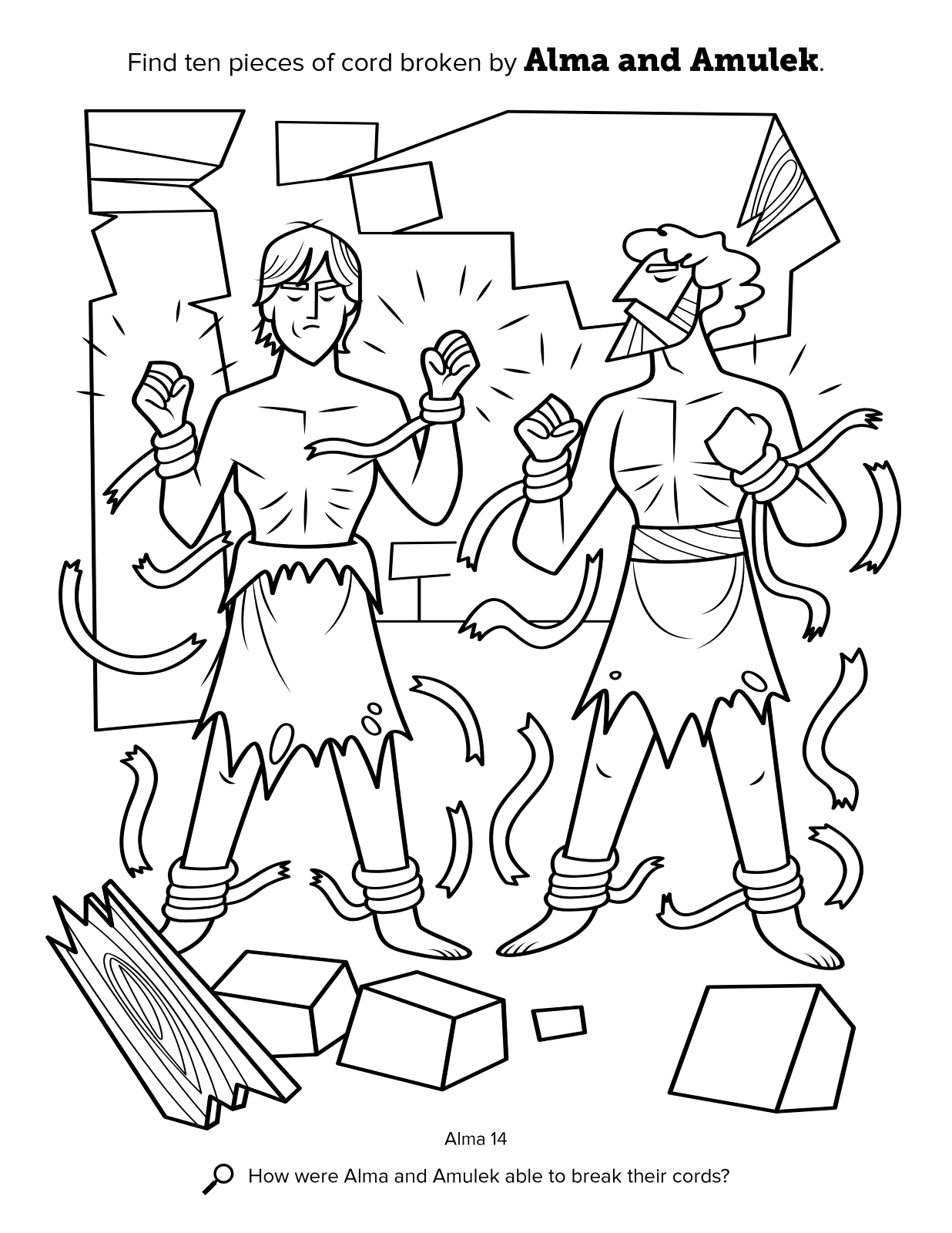 Book Of Mormon Heroes Coloring Pages - Worksheet & Coloring Pages