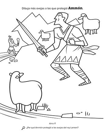 Ammón y las ovejas del rey