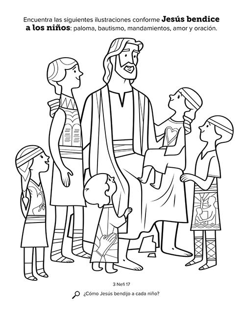 Jesús bendice a los niños