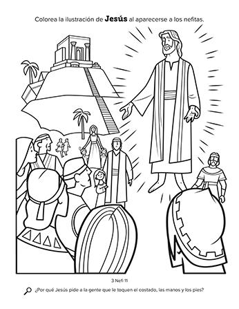 Jesús se aparece a los nefitas