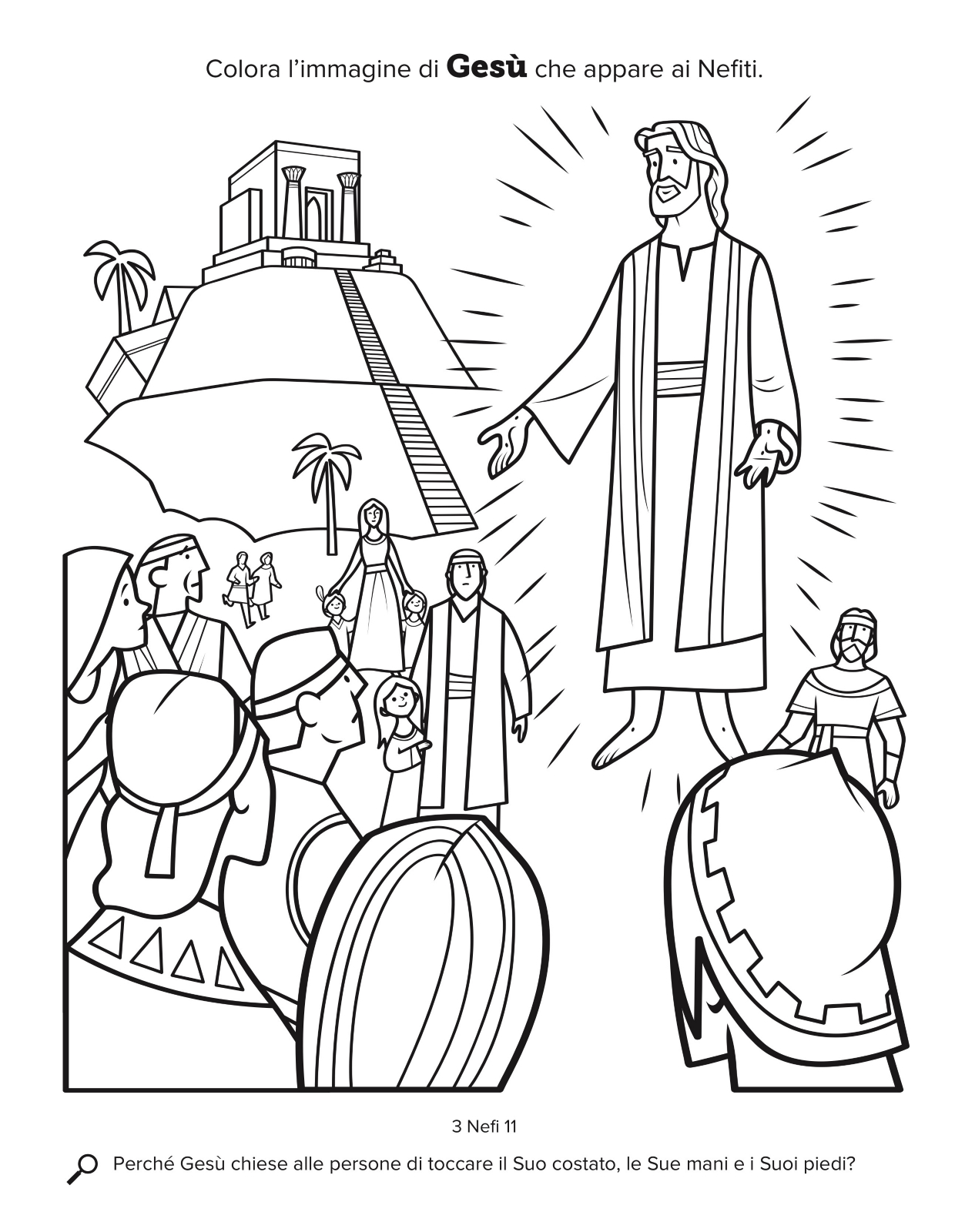 Gesù Appare Ai Nefiti