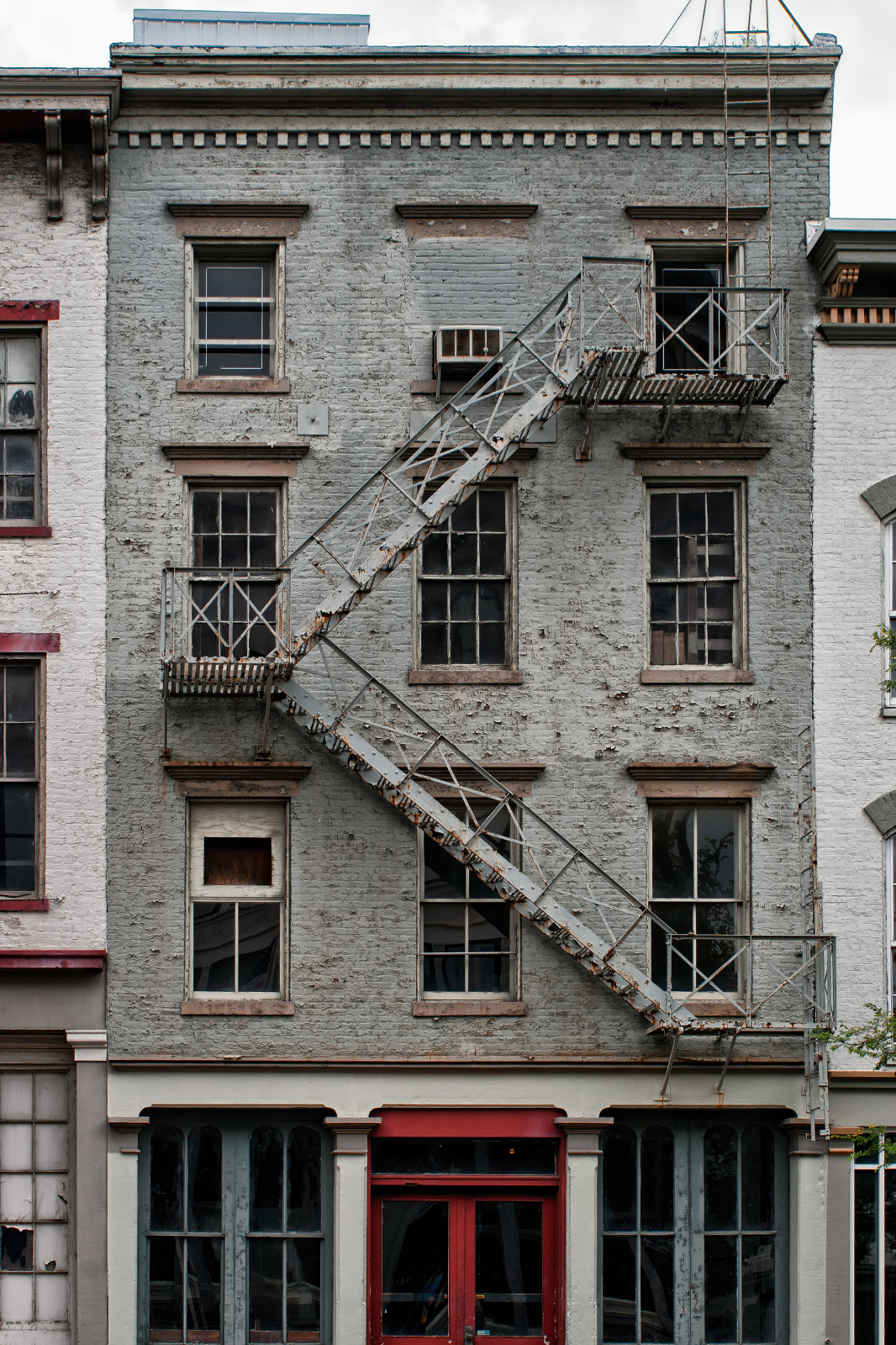 Building With A Fire Escape