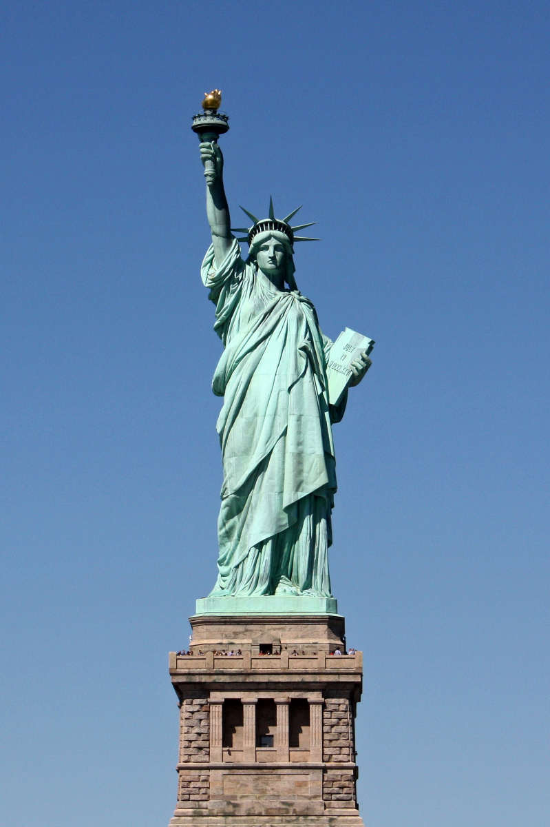 It's just a picture of Declarative Statue of Liberty Printable