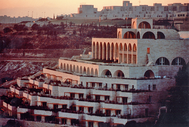The BYU Jerusalem Center in the Holy Land.