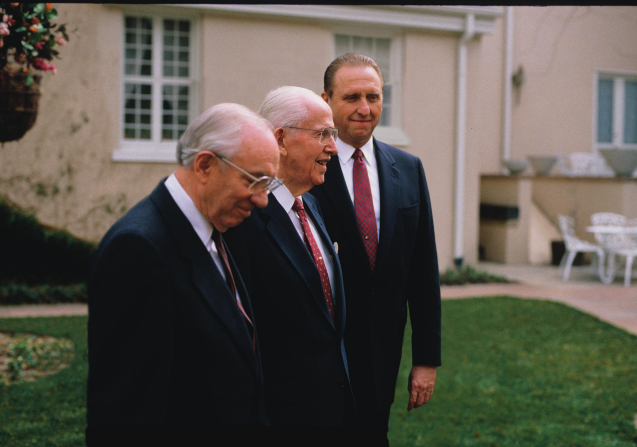 President Benson And First Presidency