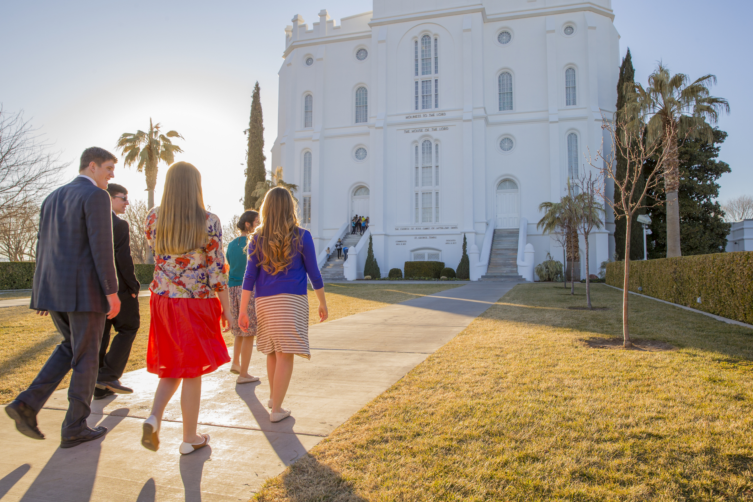 Lds Quotes For Youth: Youth At St. George Utah Temple