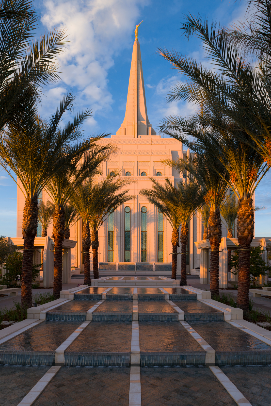 The Fountain on the Grounds of the Gilbert Arizona Temple