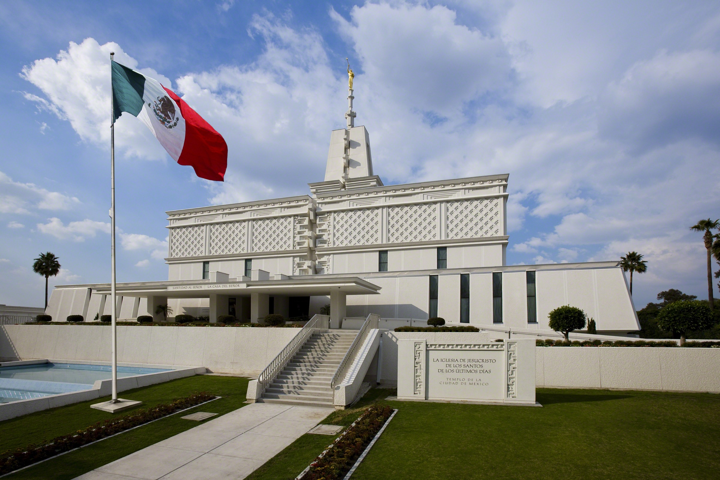 Mormon Temple Mexico City