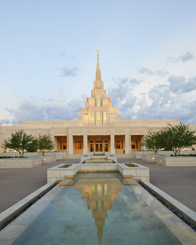 Phoenix Arizona Temple Entrance
