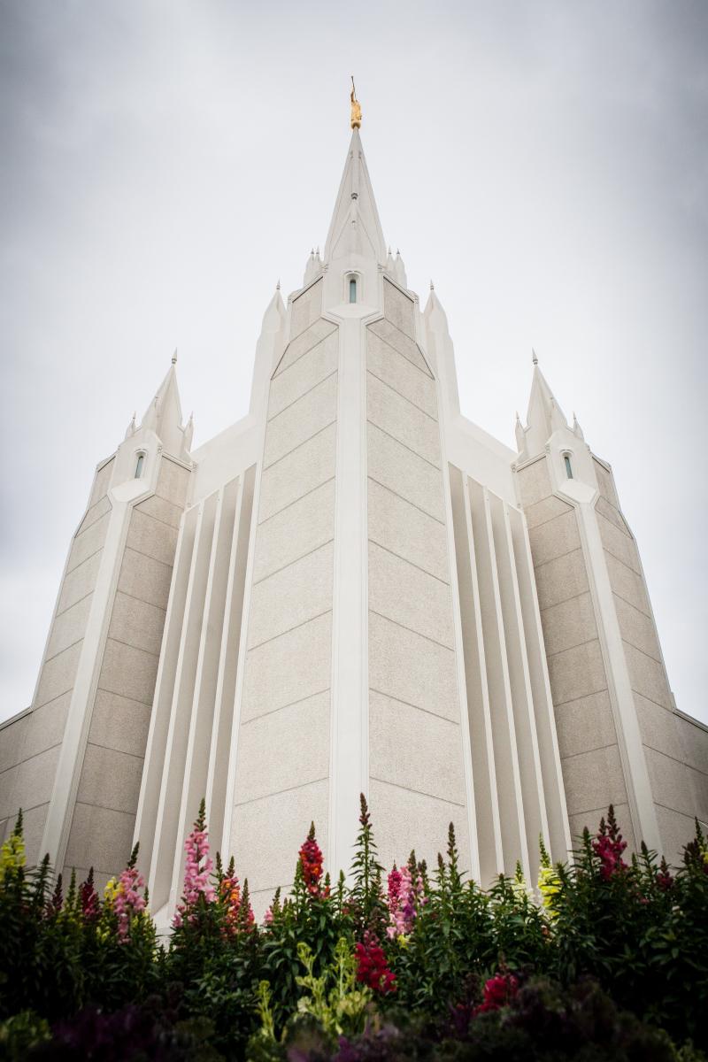 San Diego California Temple Spires