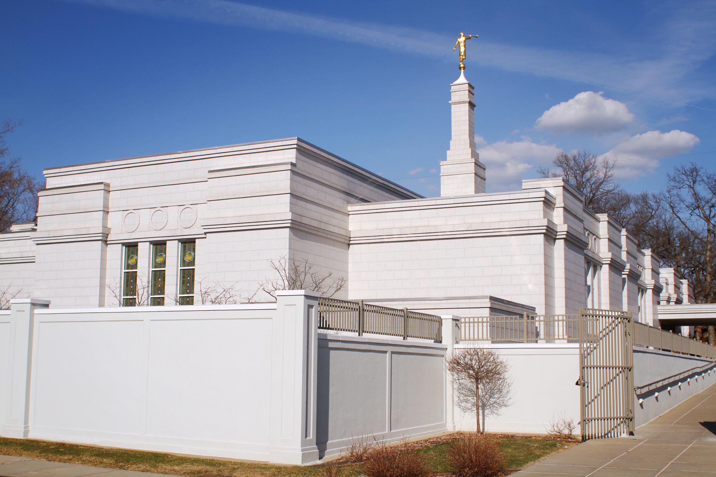 St Paul Minnesota Temple West Side