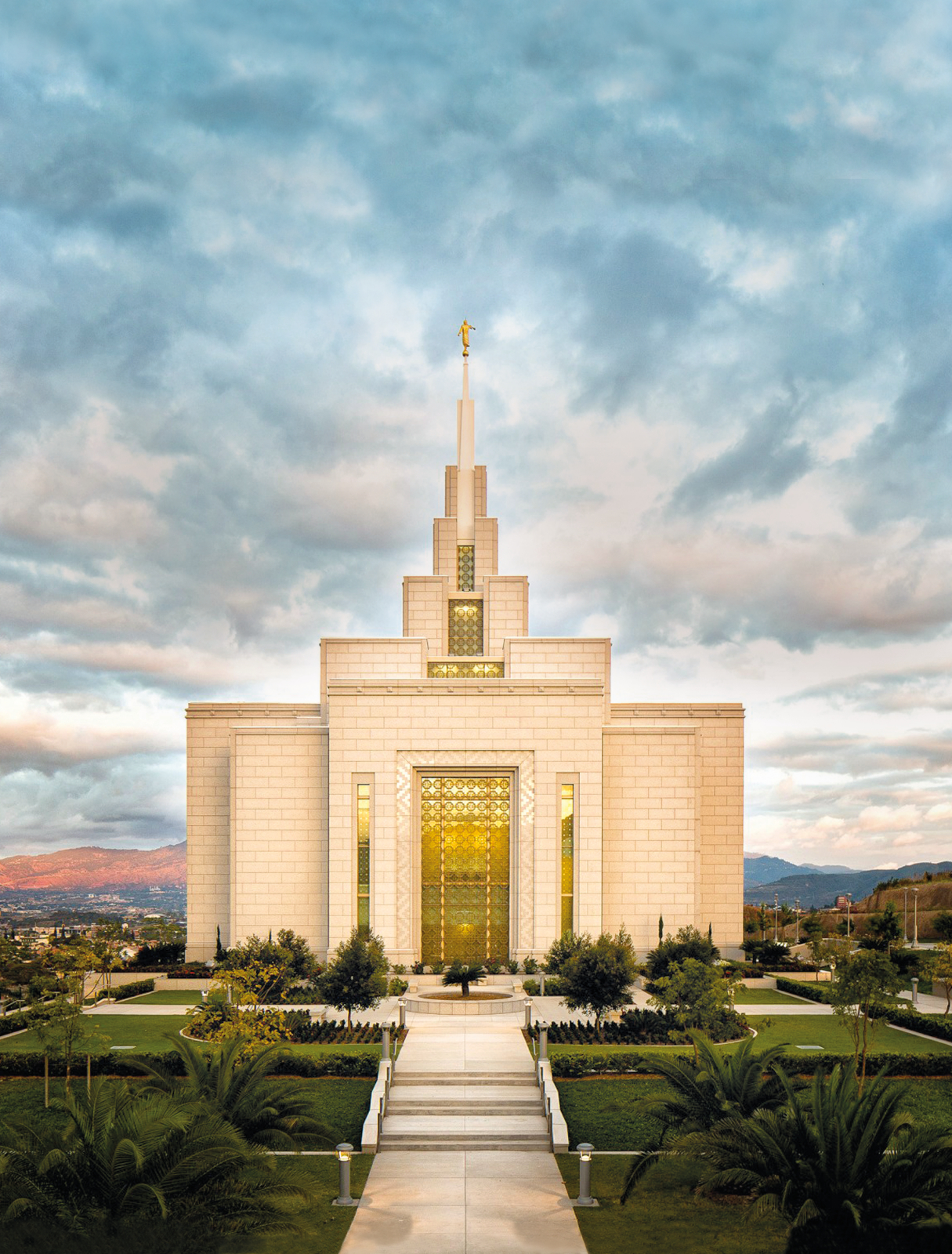 Tegucigalpa honduras temple at sunset - Lds temple wallpaper ...