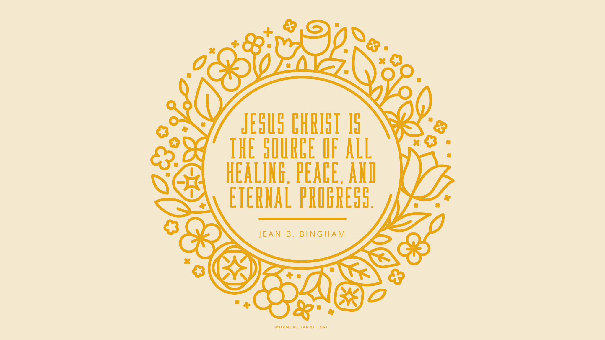 Daily Quote The Source Of All Peace Mormon Channel