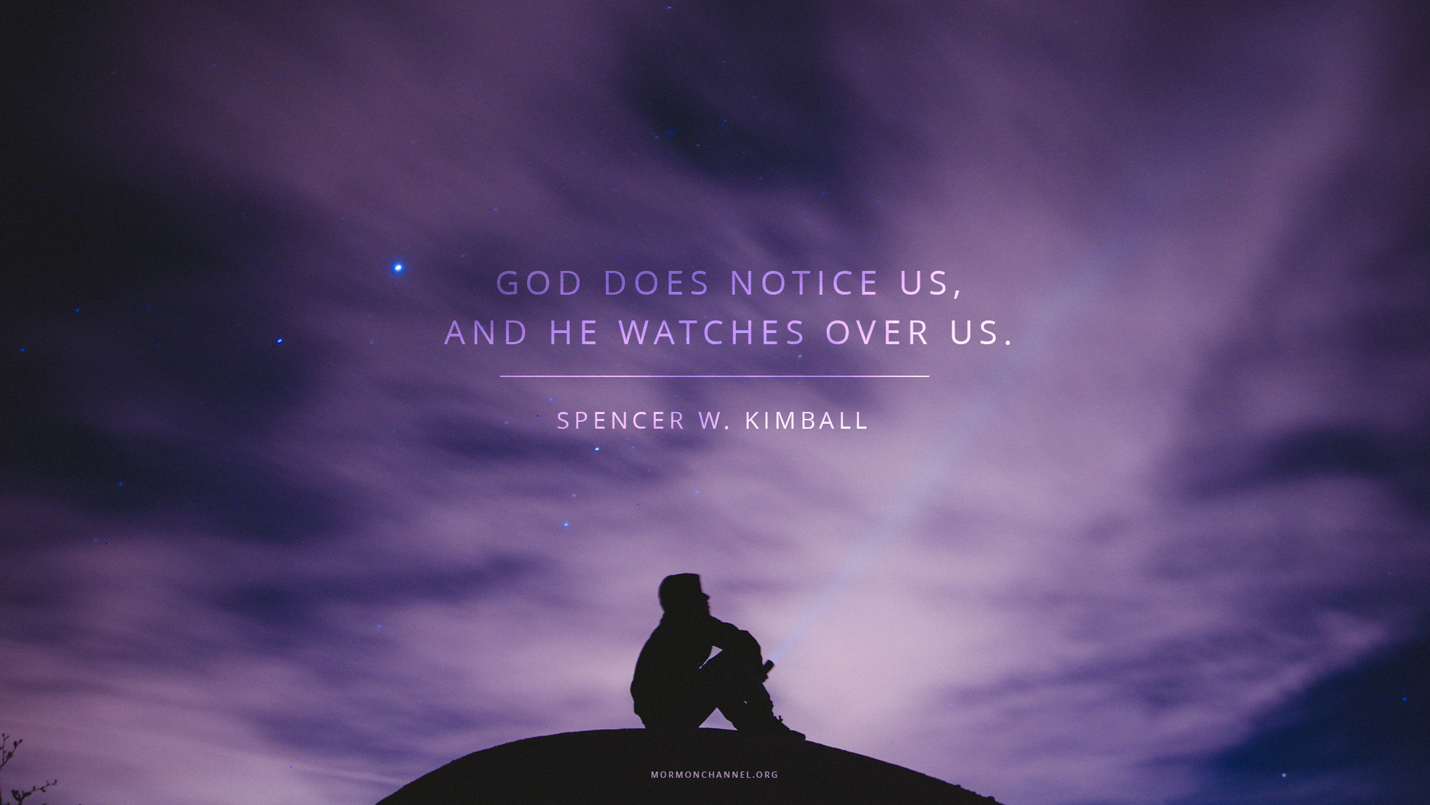 daily quote god does notice us latter day saints channel