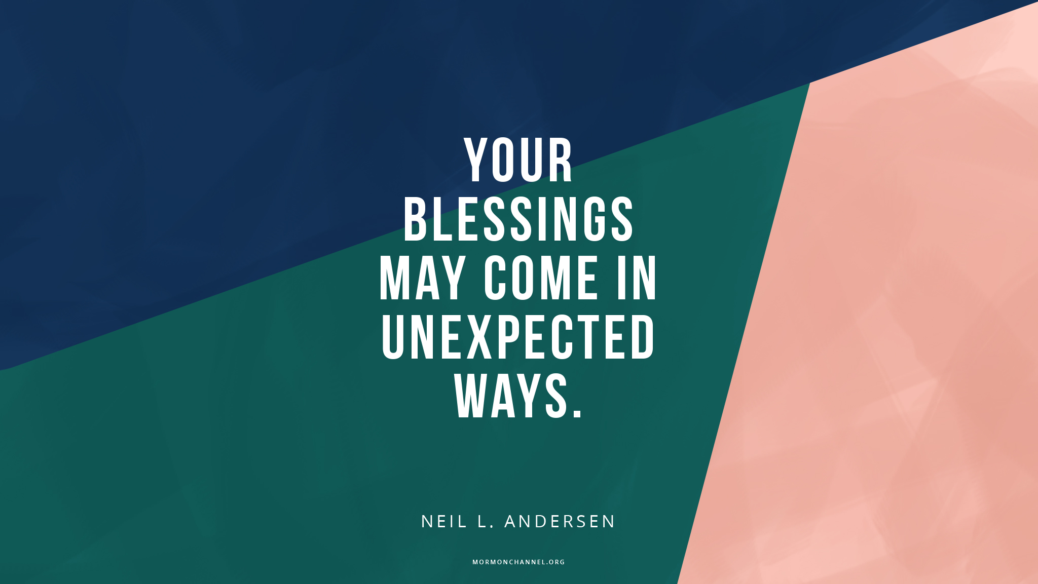 Daily Quote: Some Blessings Come in Unexpected Ways ...