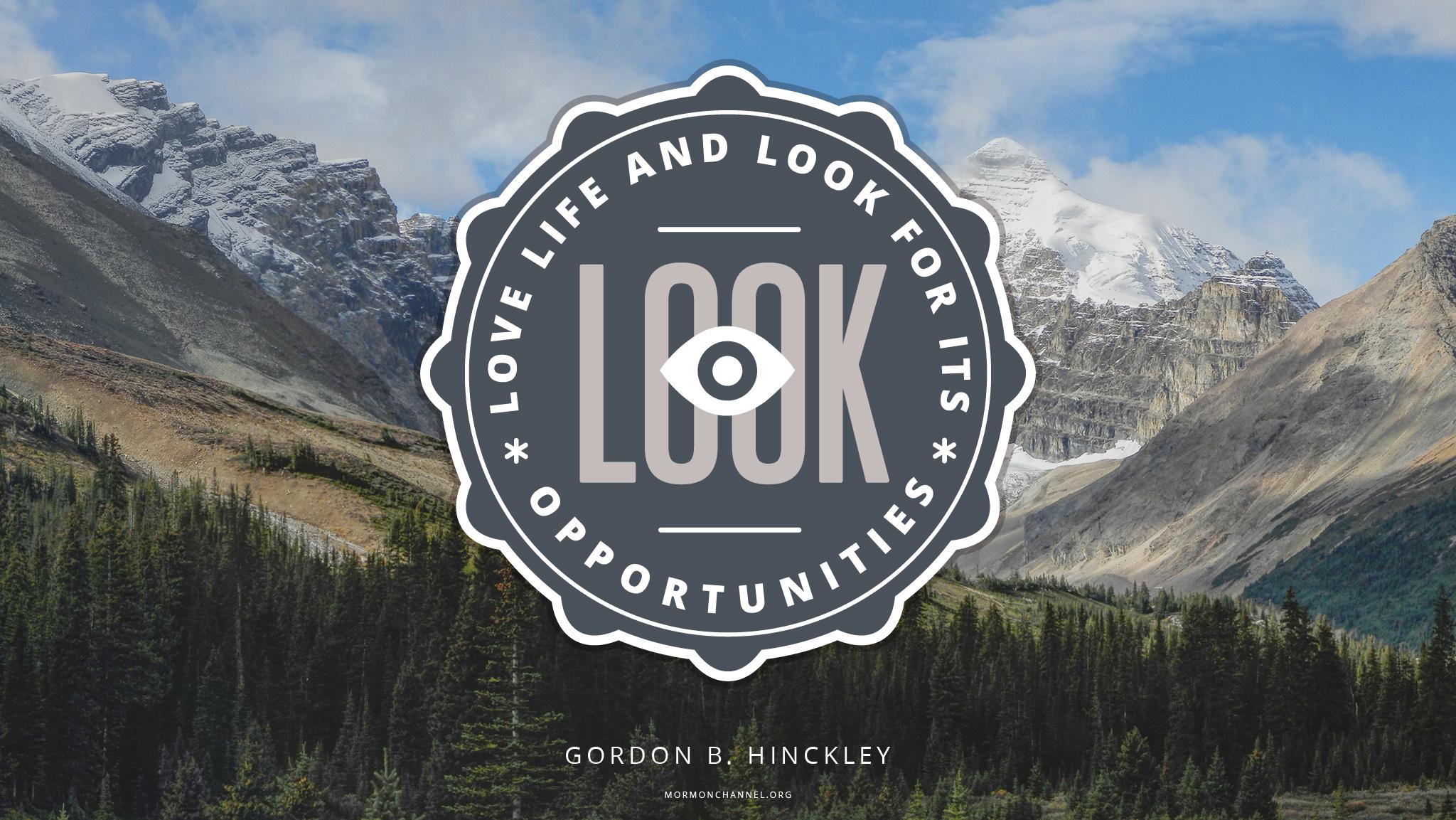 Gordon B Hinckley Quotes Daily Quote Love Life  Mormon Channel