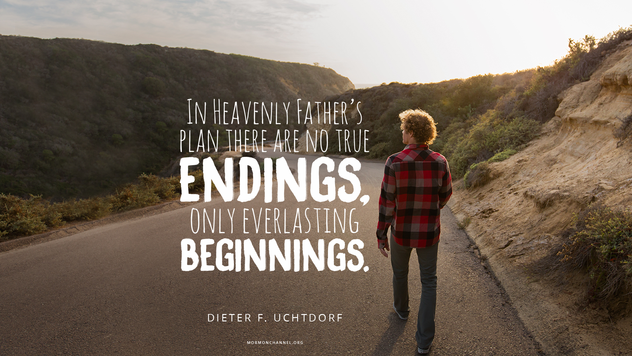 daily quote in god s plan there are no true endings inspiration