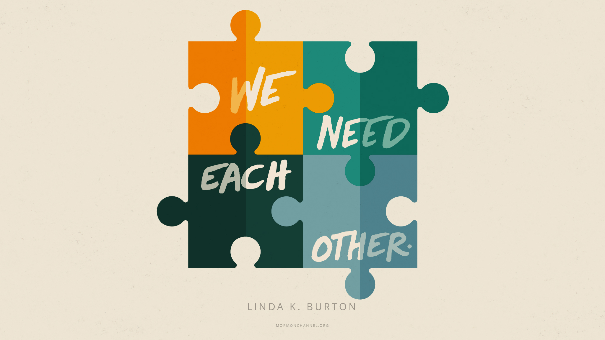 Daily Quote: We Need Each Other | Mormon Channel