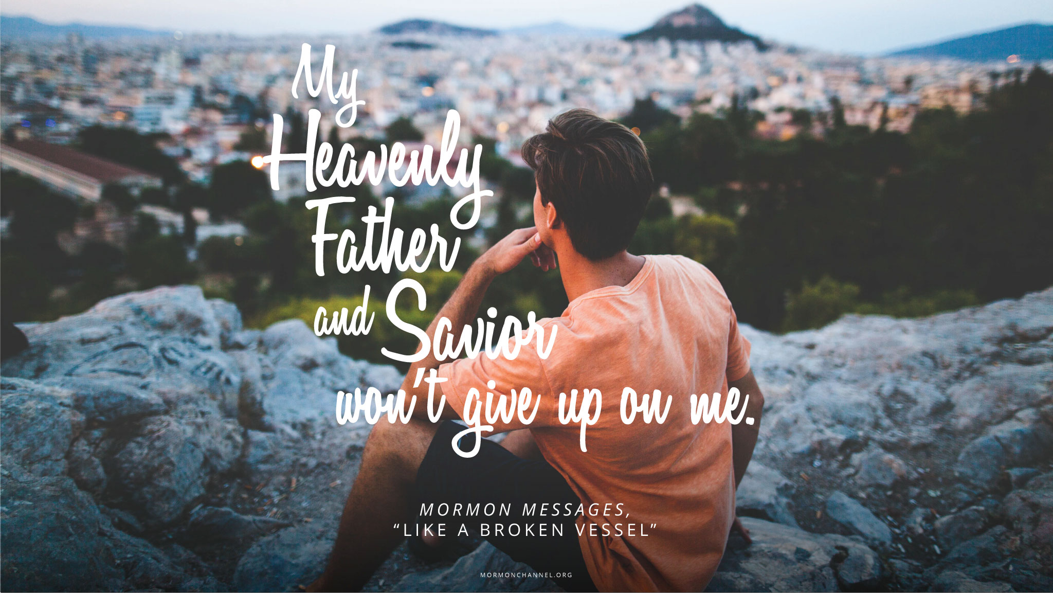 Daily Quote God Wont Give Up On Me Mormon Channel