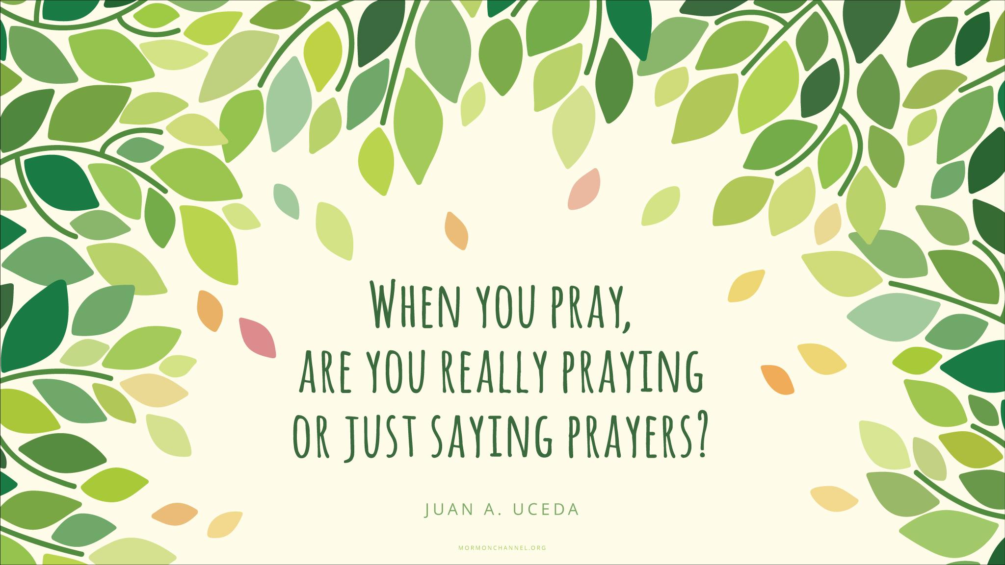Prayer Quote Daily Quote Prayer  Mormon Channel