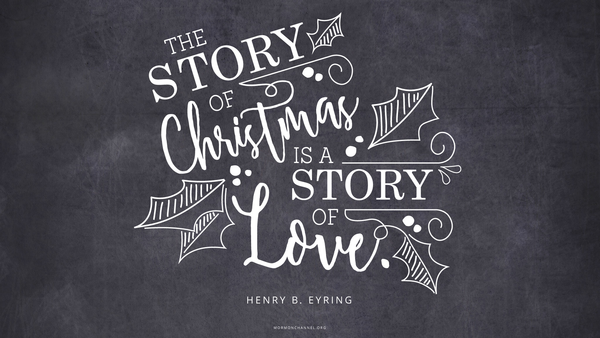 Christmas Quotes About Friendship Daily Quote Christmas Is A Story Of Love  Mormon Channel