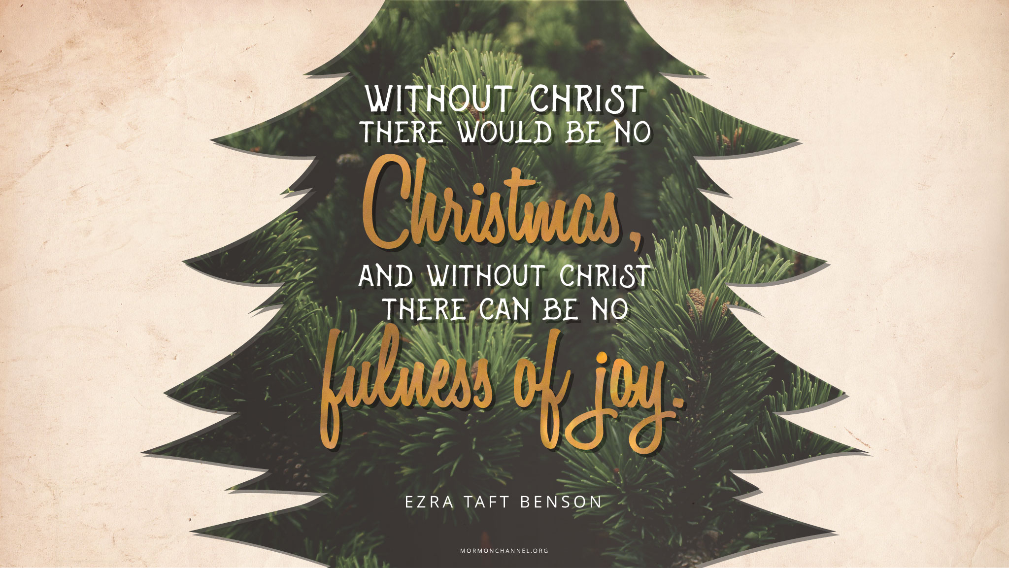 Daily Quote Without Christ There Would Be No Christmas Mormon Channel