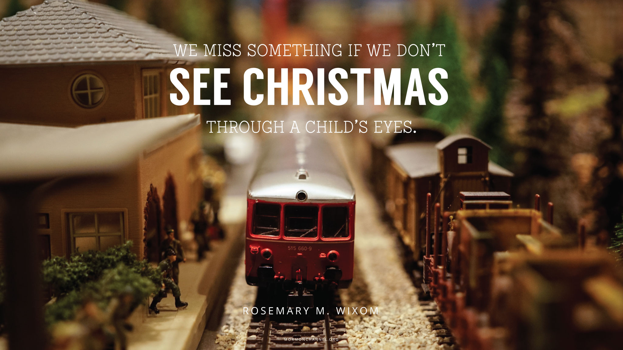 Through The Eyes Of A Child Quote: Daily Quote: See Christmas Through A Child's Eyes