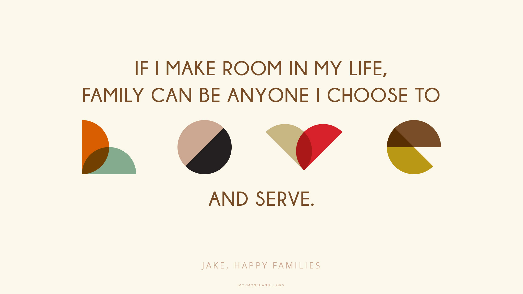 Daily Quote: Family Can Be Anyone | Mormon Channel