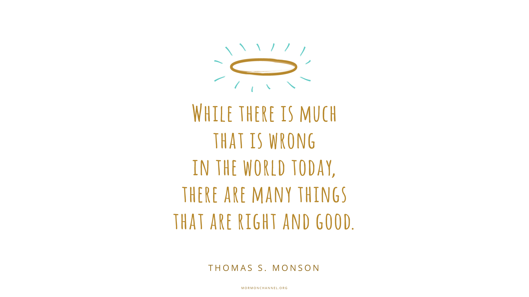 Daily Quote: Good In The World