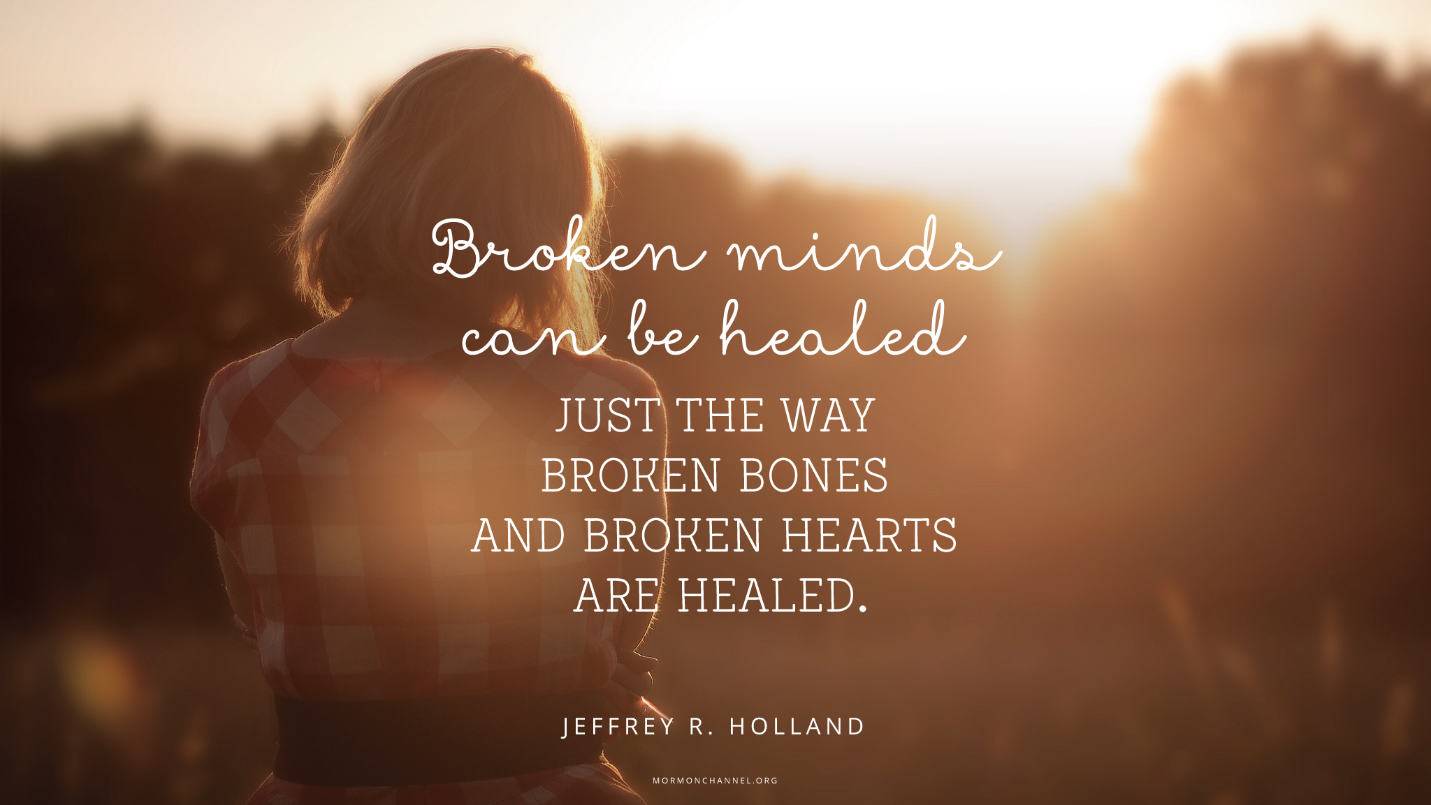 Healing Love Quotes Daily Quote Healing  Mormon Channel