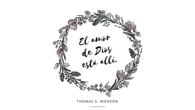 Frase Del Dia El Amor De Dios Esta Alli Canal Mormon