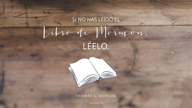 Frase Del Día Libro De Mormón Inspiración