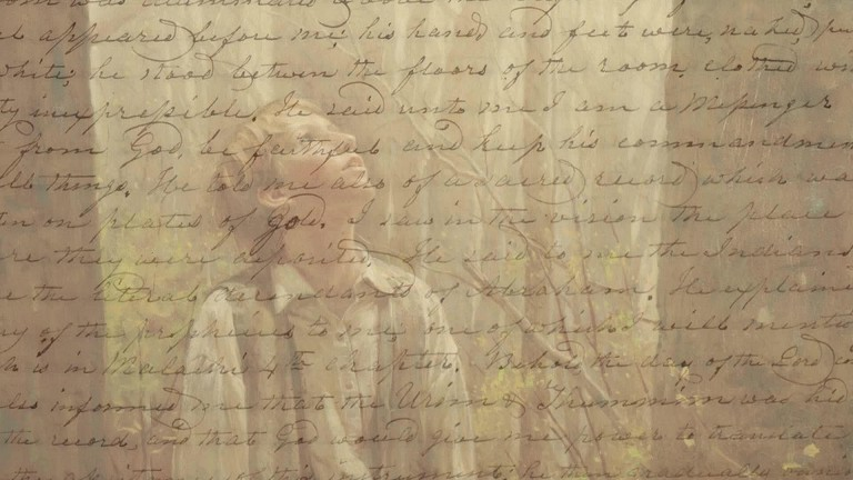 a study of joseph smiths first vision Rendering the ineffable effable: treating joseph smith's first vision in imaginative literature  hymn joseph smiths first prayer first published in 1878 long.